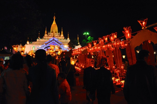 Kathein procession. Photo: Life in the Tropics