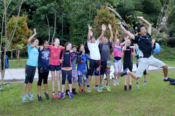 A group of spoiled children from one of the top private schools in Singapore. Nomad Adventure Camp, Gopeng, Malaysia. Photo: Life in the Tropics